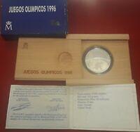 Monedas Juan Carlos I: 1000 PESETA 1995 ESPAÑA MONEDA DE LOS JUEGOS OLIMPICOS 19