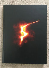 Limited Edition Resident Evil 5 Collectors Hardback Guide XBOX