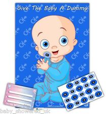 Baby Shower Party Games/dare al bambino un manichino/Blu/20 giocatori-Taglia A2