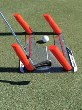 Golf Slice and Hook Corrector with 4 Angled Rods - Swing Trainer