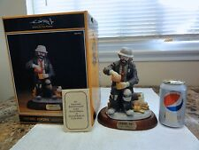"""Emmett Kelly Jr Exclusive """" Dining Out """" Figurine - Perfect Condition In Box"""