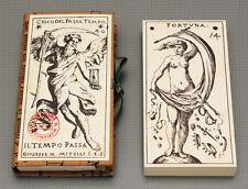 PASSAGE OF TIME CARD DECK - MITELLI LTD ED - GIOCO  PASSA TEMPO - TAROT SYMBOLS