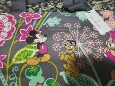 NEW Vera Bradley Disney Mickey and Friends Lighten Up Beach Drawstring Tote Bag