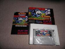 Super Nintendo, Snes - mr bloppy - 100% boxed piko