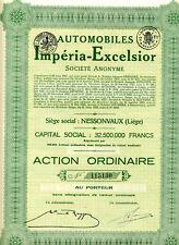 AUTOMOBILES IMPÉRIA-EXCELSIOR