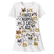 I Was Normal 3 Cats Ago Cats Pajama Shirt