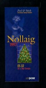 IRELAND. 1997. CHRISTMAS £5.32 SELF ADHESIVE BOOKLET. 20x28p STAMPS. M.N.H.