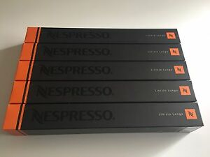 100 X Nespresso Linizio Lungo Capsules