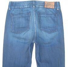 Chip & Pepper Stuffin Muff Jeans High Waist Flare Dark Distressed Sz 30