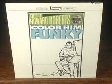 HOWARD ROBERTS «COLOR HIM FUNKY» CAPITOL Jazz Guitar Virtuoso 1963 Orig ~EXC