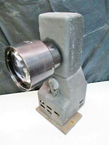 Jones & Lamson Mercury Arc Projection Lamp Unit For FC14 Optical Comparator