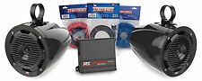 MTX ORVKIT3 2-Channel Amplifier and 2 Roll Cage Speaker Package Addition