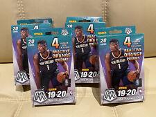 Panini 2019-20 Mosaic NBA Cards Hanger Box Lot Of 4 BRAND NEW SEALED
