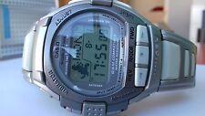 Casio VINTAGE COLLECTION Vcl-110C-7 WHITE SHARK Vivcel Gsm WATCH RARE MONTRE NOS