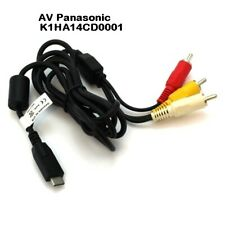 New OTB AV RCA Audio Video Cable Kabel for Panasonic Lumix DMC-TZ6