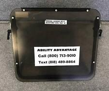 """Angle Adjustable Tray for 16"""" PERMOBIL CORPUS ll power chairs, tinted plexiglas."""