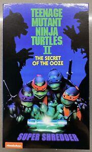 2020 NECA TMNT II Super Shredder Action Figure The Secret of the Ooze IN HAND