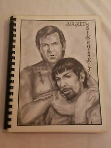 Naked Singularity Star Trek Fanzine Spock Kirk Erotic