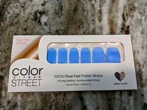 Color Street Beach House Blues Nail Strips Retired Unicorn Resealed Partial Set
