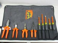 NEW SALISBURY PRO-TOOLS 9 Piece Insulated Tool Kit (TK9)