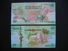 COOK ISLANDS  10 Dollars 1992  (P8a)  UNC