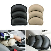 1x Universal Car SUV Center Box PU Armrest Console Soft Pad Cushion Cover Wear
