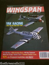 WINGSPAN #123 - YAK RACING  - MAY 1995