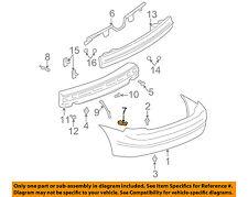 Oldsmobile GM OEM Alero Rear Bumper-Bumper Cover Side Bracket Right 22737117