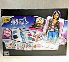 Crayola Fashion Superstar Design Book and App - Toy for Girls Gift Ages 8 and Up