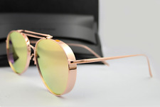 New  AUTHENTIC GENTLE MONSTER BIG BULLY Rose Gold sunglasses