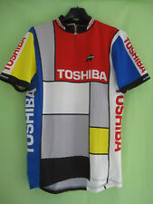 Maillot cycliste Toshiba Tour Pro 1989 ASSOS Vintage Jersey Cycling - XL