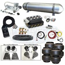 "58-64 Impala Airbag Kit 3/8"" Electric System Accuair VU4 Viair 480C AVS Air Lift"