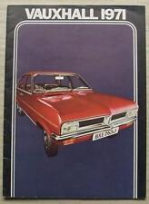 VAUXHALL CAR RANGE 1971 Sales Brochure #V1984/10/70 VX4/90 Victor VIVA Ventora 2