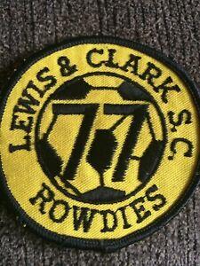 Lewis + Clark Soccer Association Team Club 1980's Patch
