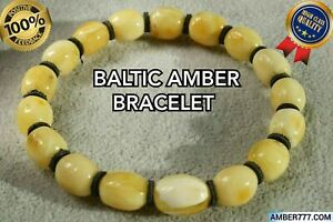 IN GOOD CONDITIONS NATURAL BALTIC AMBER BRACELET 9 GRAMS