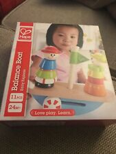 Hape Wooden Balance Boat Early Learning Toy E0423 Stocking Filler NEW Item