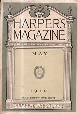 1910 Harper's Monthly May - Somnambulists; Horses of Indra; Aran islands; Pyle
