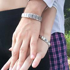 Value Silver Expanding High Power Magnetic Bracelet For Men Magnetic Bracelet