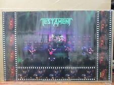TESTAMENT Vintage Poster American thrash metal band 1990 Inv#G4502