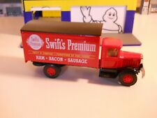 "AHL - Hartoy -1/64 - Mack Delivery Truck ""Swift's Premium"" - w/box -1991"