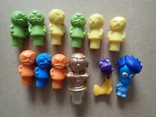 Lot of plastic figures funny faces              (Y222)