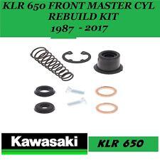 Kawasaki KLR 650  1987 - 2018 FRONT MASTER CYLINDER SEAL KIT 18-1004