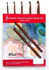 KnitPro Symfonie Single Ended Crochet Hook Set | Kp20716