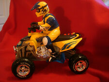 1996 Battery Op Toy State Road Rippers Motorcross Motorcycle Driver Sound Light
