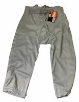 NWT Champro Sports Terminator Integrated Football Pants Pant Silver Youth M G17