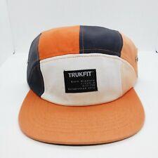 TrukFit mens 100% Authentic Adjustable Strapback multicolor logo camper hat