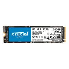 Crucial P2 SSD 500GB M.2 2280 PCIe 3.0 x4 - internes Solid-State-Module