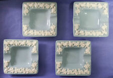 Vintage Wedgewood Etruria Barlaston Embossed Queens Ware Ashtray Made In England