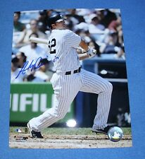 Andy Phillips of NY Yankees Autographed 8X10 Photo ~ COA by Ted Williams Museum