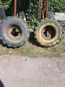 6 Tonne Dumper Wheels and Tyres (18-19.5)